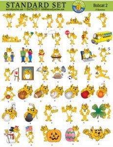 Bobcat Clip Art Images