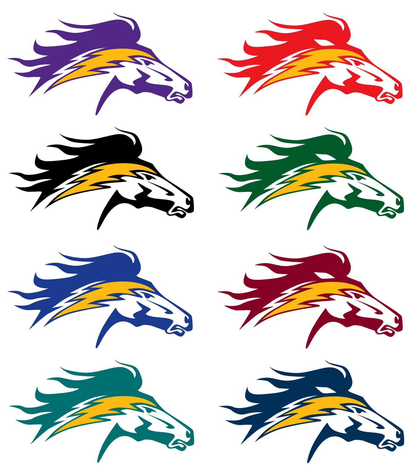 Charger Horse Logo Graphic