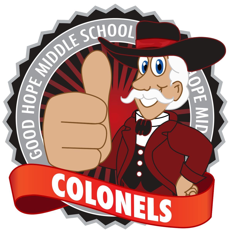Colonel Mascot Logo