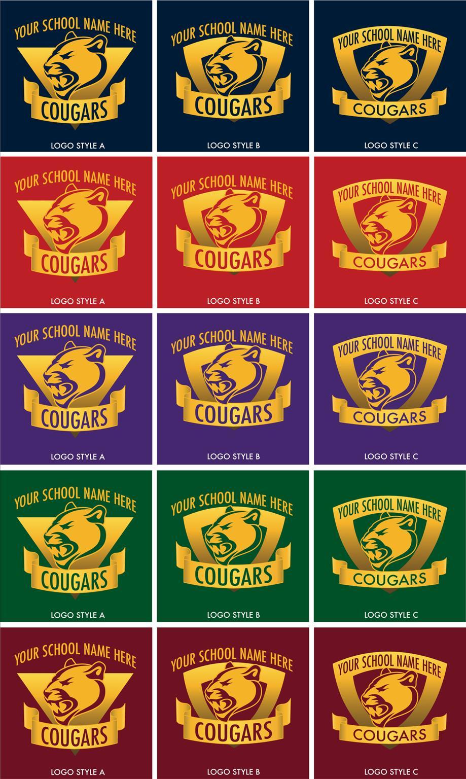 Cougar Logo Mascot