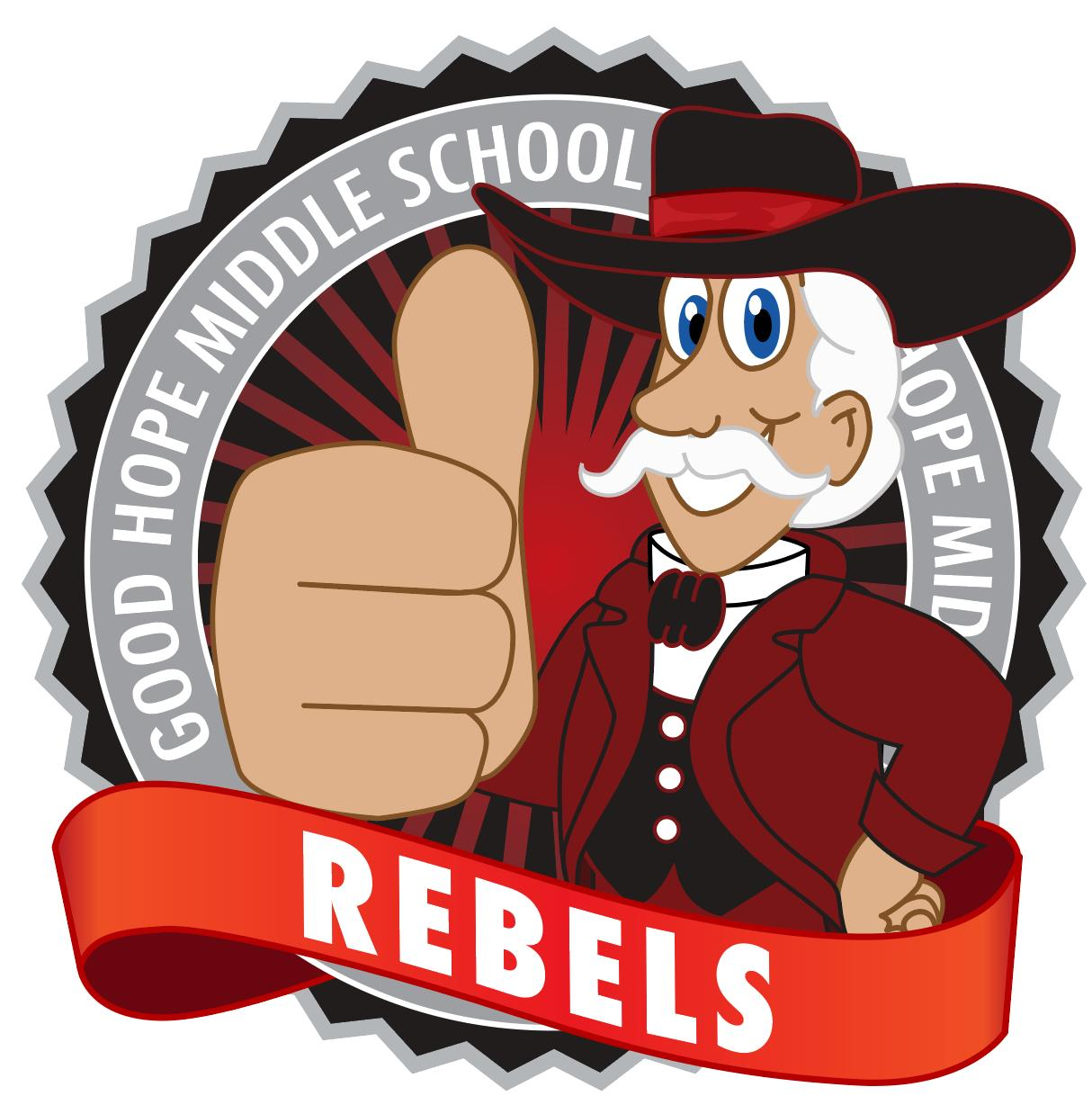 Rebel Mascot Logo