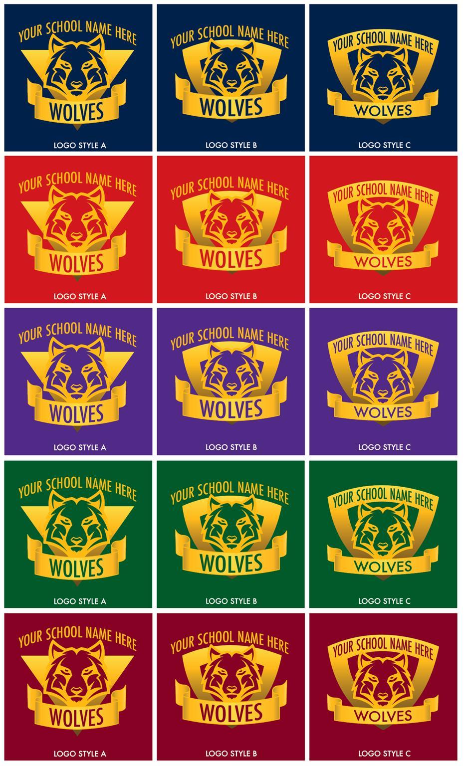 Wolves Logo Mascot