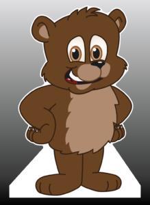 Bear Cub Standee