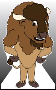 Bison / Buffalo Standee