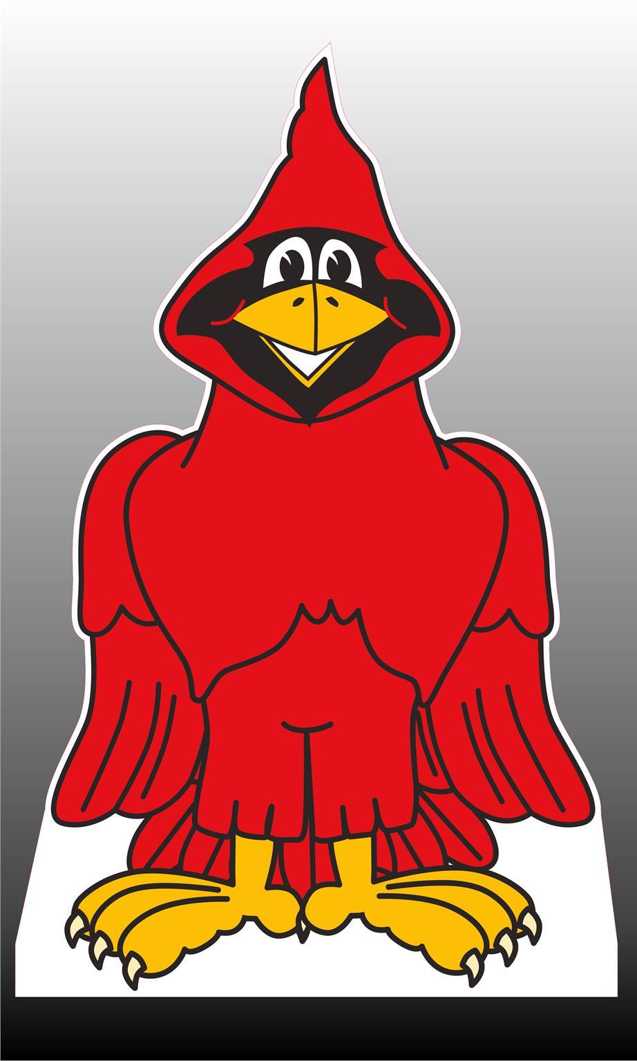 Cardinal (1) Standee