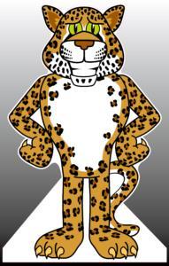Jaguar Standee
