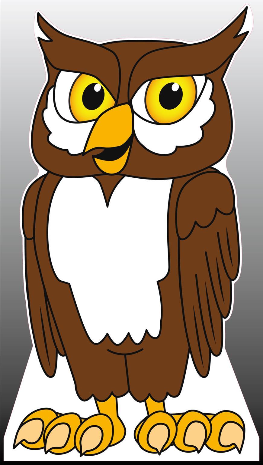 Owl Standee