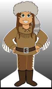 Pioneer Standee (female)