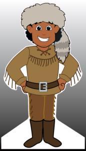 Pioneer Standee (male)