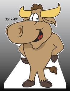 Bull / Longhorn Standee