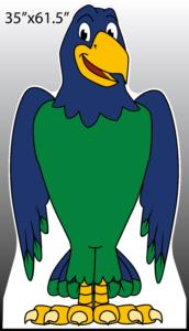 Seahawk (2) Standee