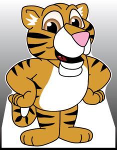 Tiger Cub Standee