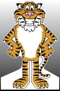 Tiger (1) Standee