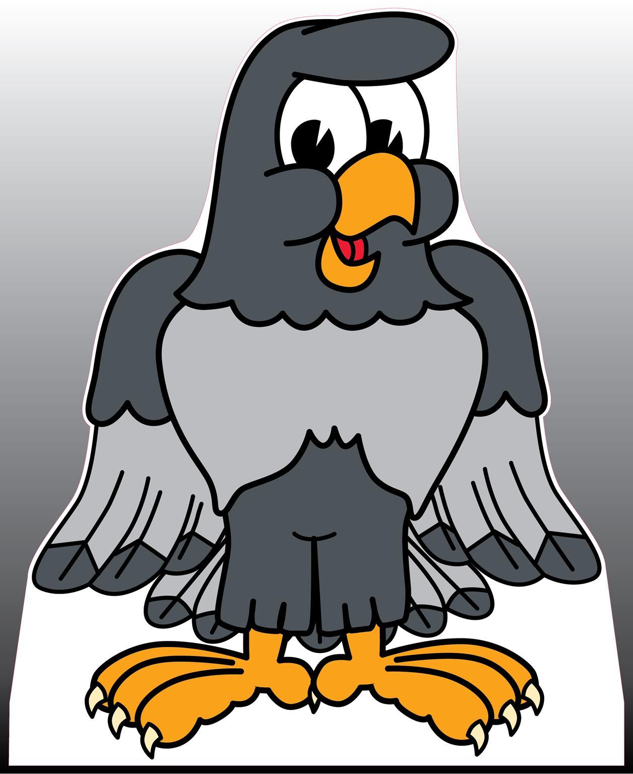 Gray Falcon Standee