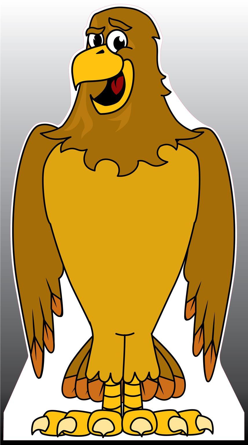Hawk 3 Standee