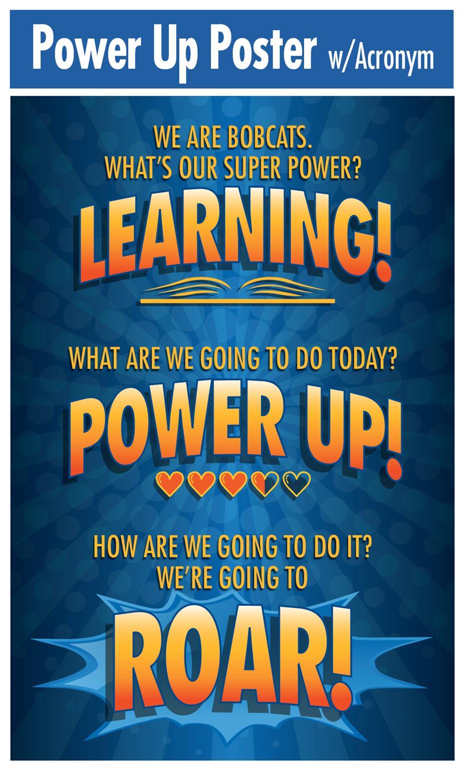 Power Up Poster ROAR