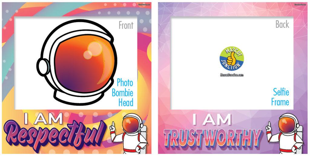 Selfie Frames_Character_Astronaut