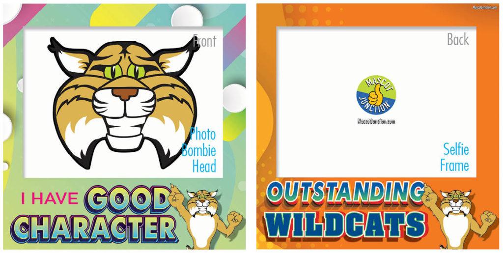 Selfie Frames_Character_Wildcats
