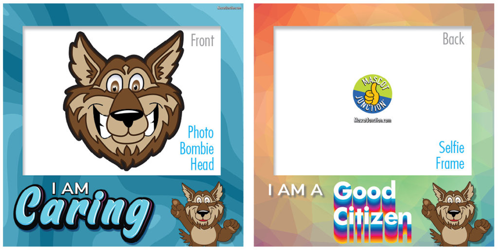 Selfie Frames_Character_Wolf-Brown4
