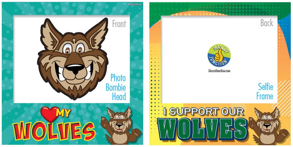 Selfie Frames_Character_Wolf-Brown5