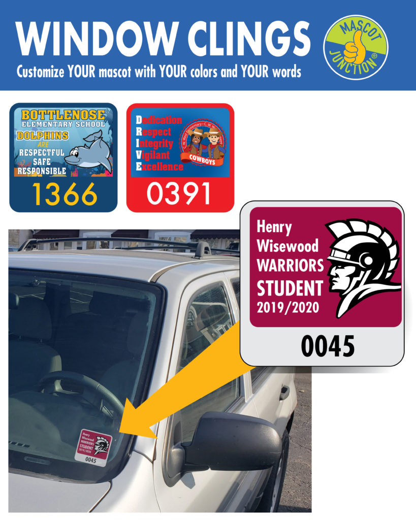 Parking pass-Window clings