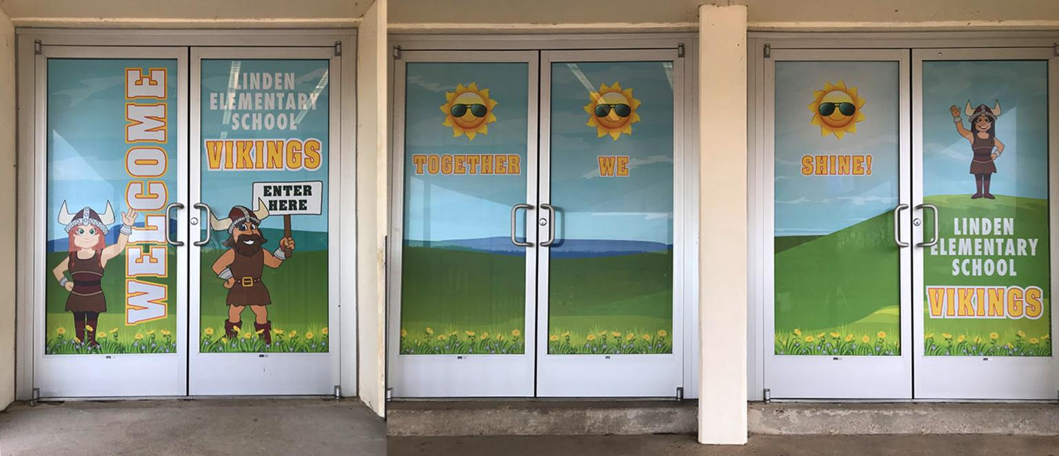 Window Perfs School Security