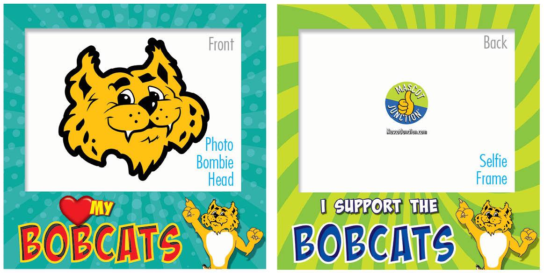PBIS Selfie Frames Bobcat 25