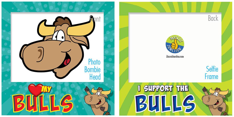 PBIS Selfie Frames Bulls