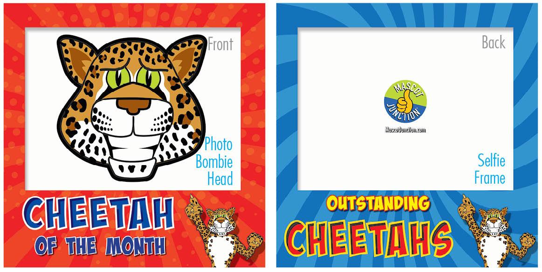 PBIS Selfie Frames Cheetah4