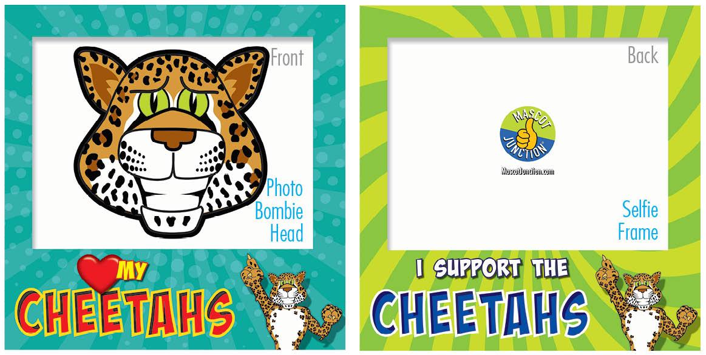 PBIS Selfie Frames Cheetah5