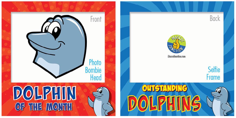PBIS Selfie Frames Dolphin4