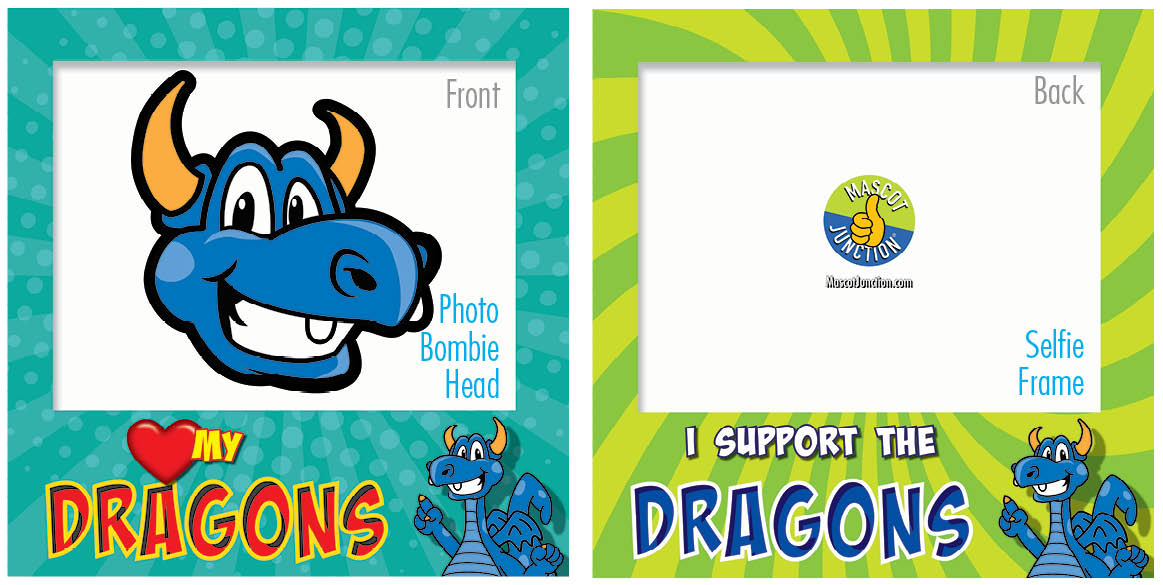 PBIS Selfie Frames Dragon with Wings and Teeth5