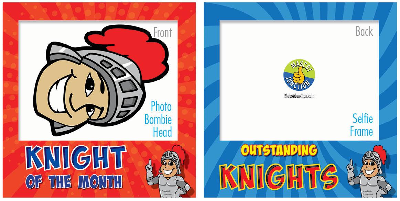 PBIS Selfie Frames Knight4