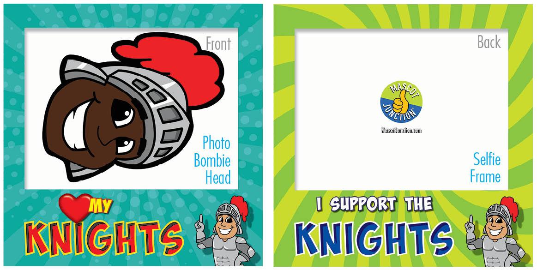 PBIS Selfie Frames Knight5