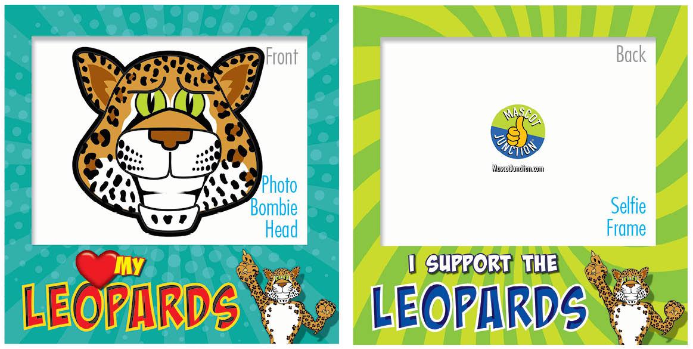 PBIS Selfie Frames Leopard5