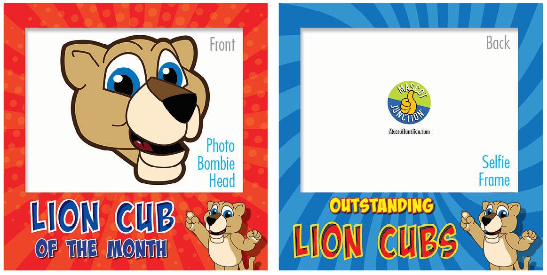 PBIS Selfie Frames Lion Cub4