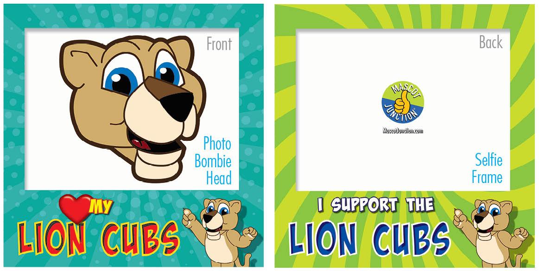 PBIS Selfie Frames Lion Cub5
