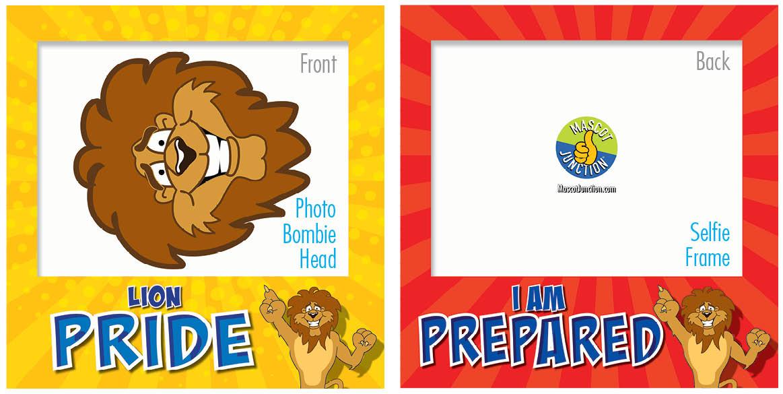 PBIS Selfie Frames Lions