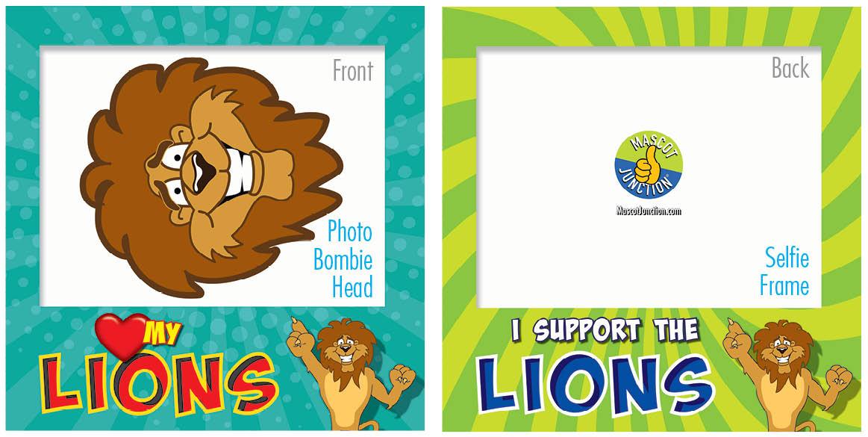 PBIS Selfie Frames Lions5