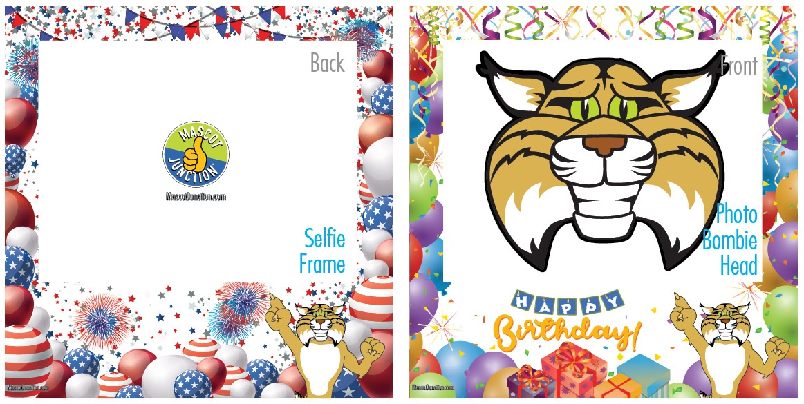 Selfie Frames_Celebration-Bobcat1_