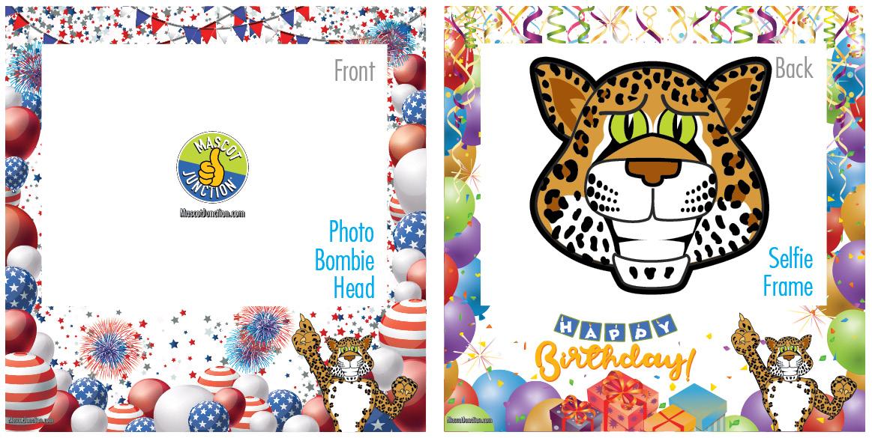 Selfie Frames_Celebration-Leopard