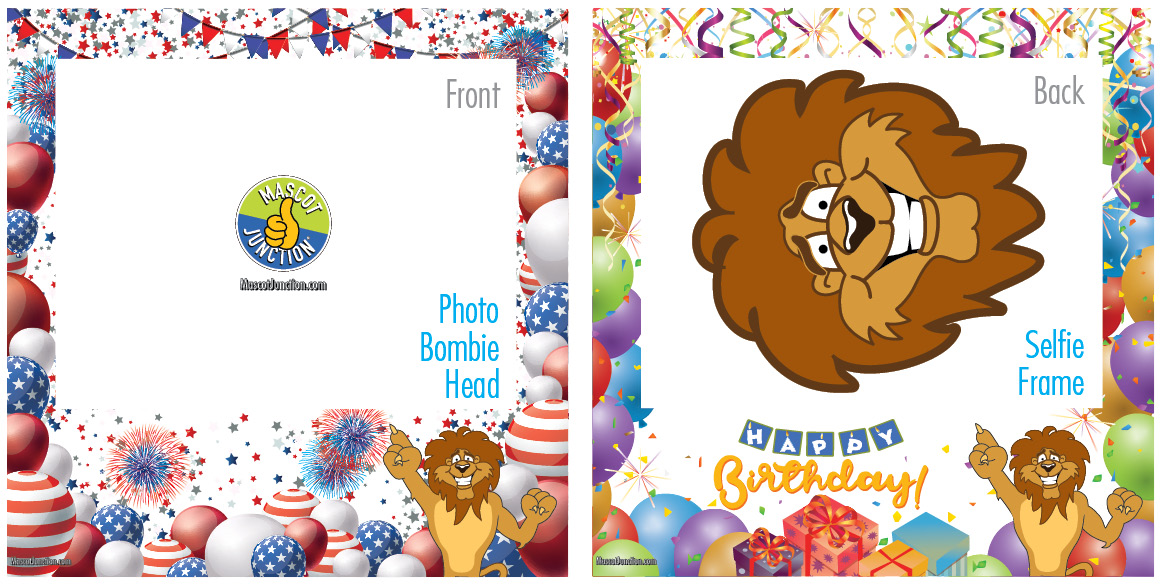 Selfie Frames_Celebration-Lion