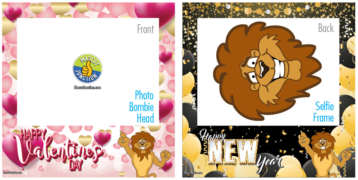 Selfie Frames_Celebration-Lion2