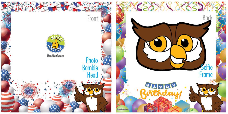 Selfie Frames_Celebration-Owl