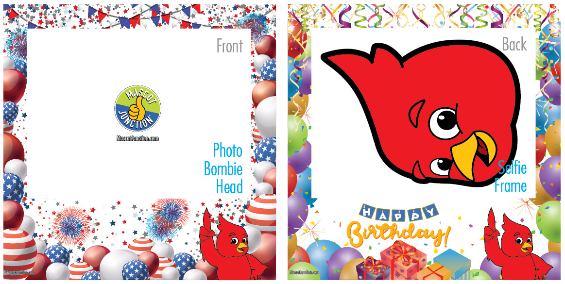 Selfie Frames_Celebration-Redbird