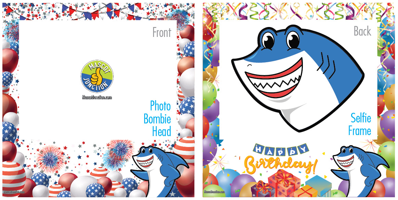 Selfie Frames_Celebration-Shark