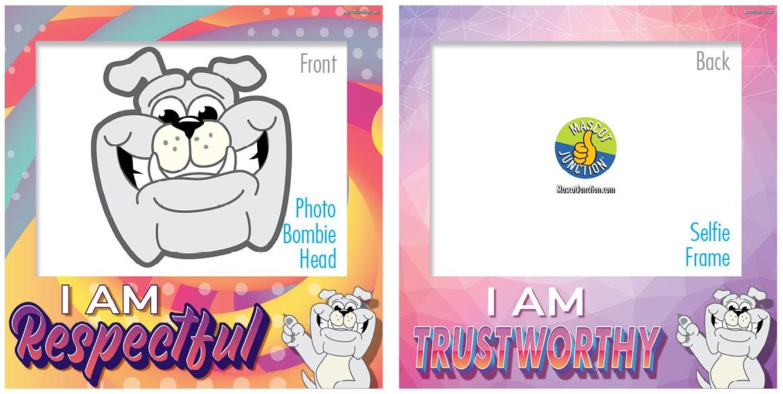Selfie Frames_Character_Bulldog