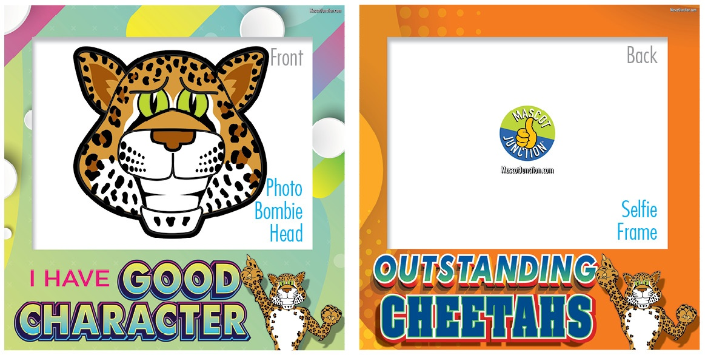 Selfie Frames_Character_Cheetah