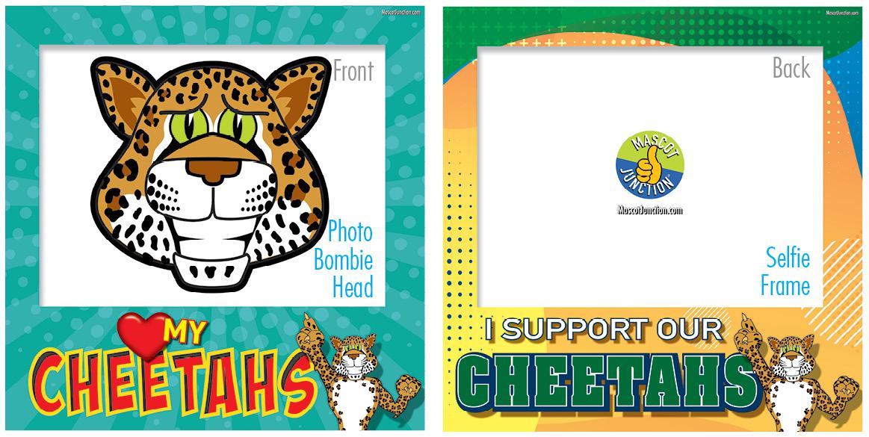 Selfie Frames_Character_Cheetah5