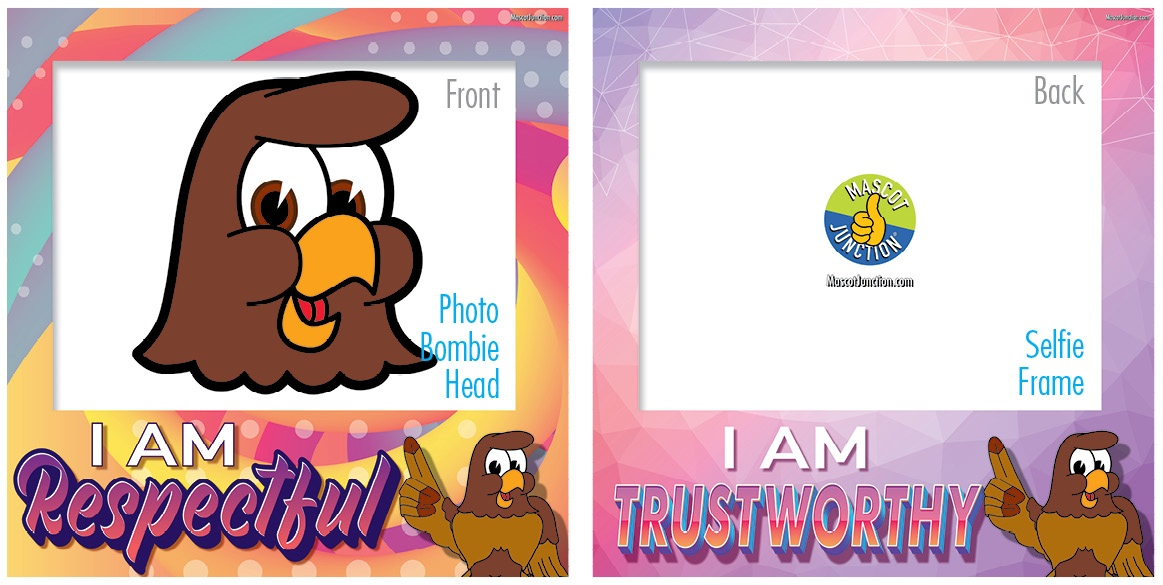 Selfie Frames_Character_Falcon1-Brown2